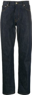 straight-fit jeans - Blue