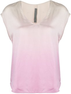 ombre shell top - ORCHID
