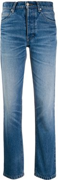 Straight Fit 5 Pockets Jeans - Blue