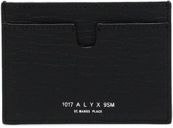 Ryan textured cardholder - Black