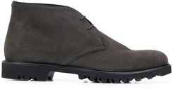 suede chukka boots - Brown