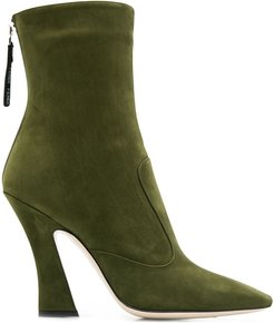 FFreedom square toe ankle boots - Green