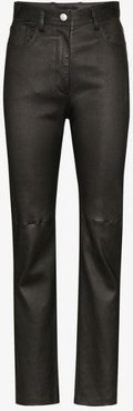 Cindy slim leather trousers