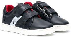 touch strap sneakers - Blue
