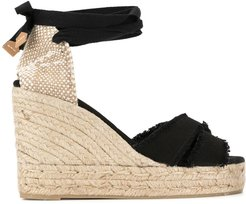 Bluma wedge heel espadrilles - Black
