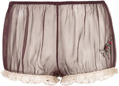 x Caroline Vreeland wine glass bloomers - Red