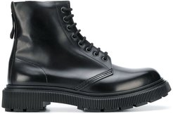 x Etudes lace-up boots - Black