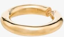gold vermeil Almost ring
