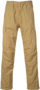 pull-on cargo trousers - Brown