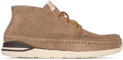 lace-up Desert boots - Brown