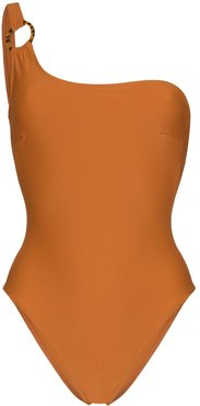 Jessi one shoulder swimsuit - ORANGE