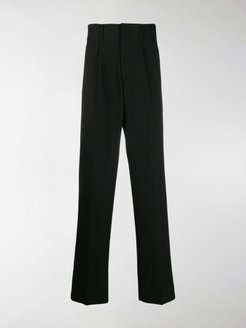 side band loose-fit trousers