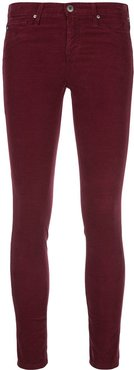 skinny ankle jeans - Red