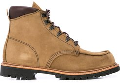 Sawmill lace-up combat boots - Brown
