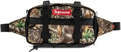 camouflage belt bag - Black