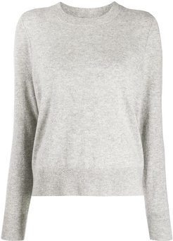 relaxed fit jumper - Grey