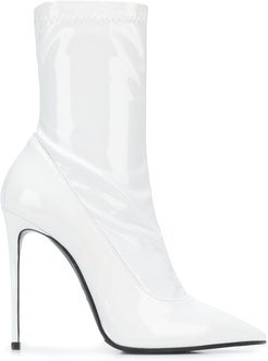 Eva 120mm ankle boots - White