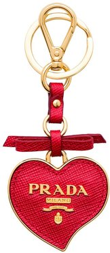 Trick heart-shaped keychain - Red