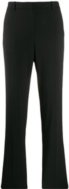 high rise tailored trousers - Black