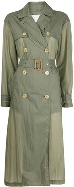 Fintry lightweight trench coat - Green