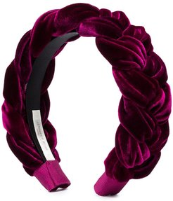 Lorelei braided headband - PURPLE