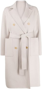 Fortrose belted trench coat - NEUTRALS
