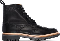 Fred lace-up boots - Black