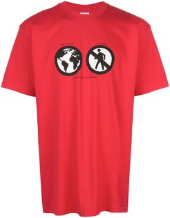 Save The Planet T-shirt - Red