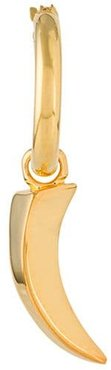 Tiger-claw hoop earring - GOLD