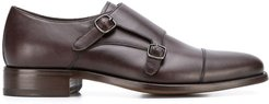 classic monk shoes - Brown