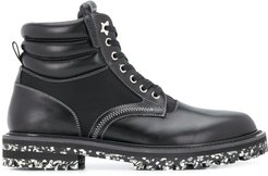Odin lace-up boots - Black