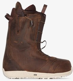 brown Ion leather snowboard boots