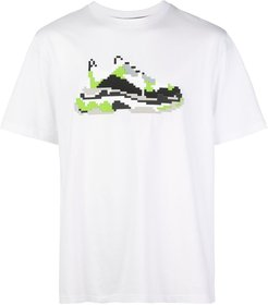 Mint Wave printed T-shirt - White