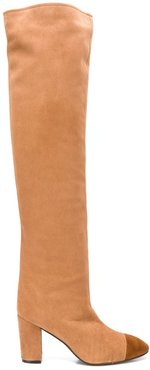 Kimberly over the knee boots - Brown