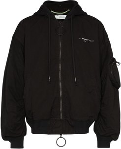 Arrows bomber jacket - Black