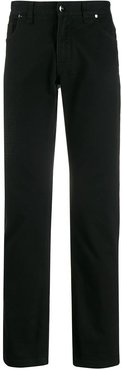 straight-fit jeans - Black