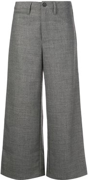 Peche cropped trousers - Grey