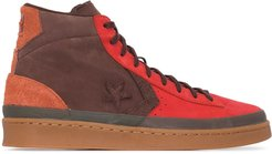 '00s Pro leather mid-top sneakers - Multicolour