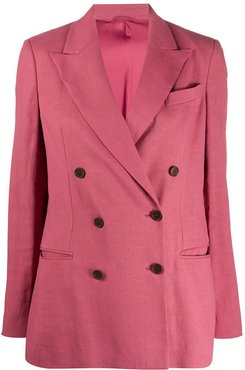 double breasted blazer - PINK