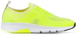 woven trainers - Yellow