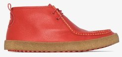 X Pop Trading Company Sella Naza red desert boots