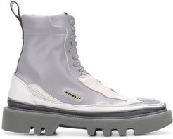 Protect Hybrid lace-up boots - Grey