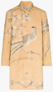 19th Century Silk Embroidered Coat