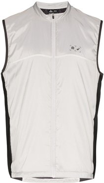 x Reigning Champ reflective gilet - Grey
