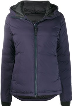 padded down jacket - Blue