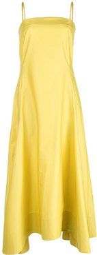 SPAGHETTI STRAP DRESS - Yellow