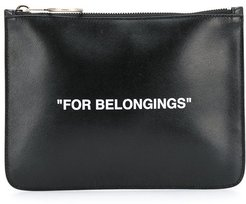 Quote pouch - Black