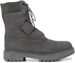 ankle lace-up boots - Grey