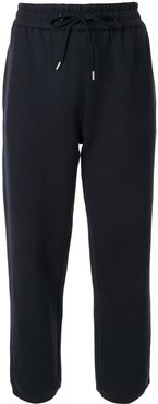 drawstring waist trousers - Blue
