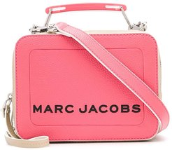 The Colorblock Textured mini box bag - PINK